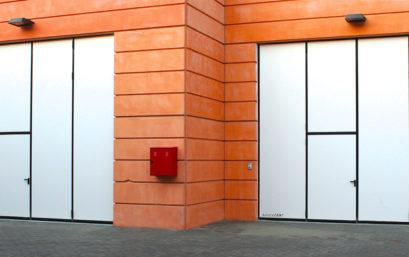 Промышленные складные ворота DoorHan без нижней направляющей
