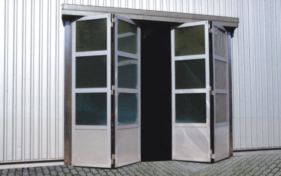 Скоростные складывающиеся ворота DoorHan