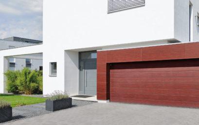 Гаражные секционные ворота Hormann