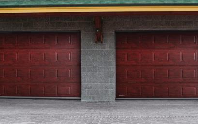 Гаражные секционные ворота DoorHan серия RSD02