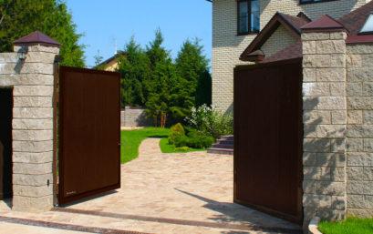 Распашные ворота DoorHan стандартных размеров