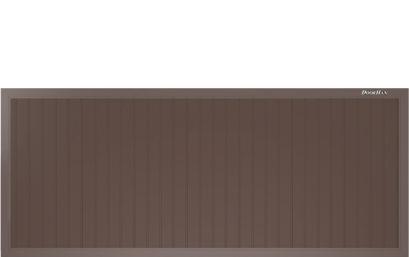 Щит с вертикальным расположением сэндвич-панелей.