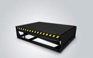 Уравнительная платформа доклевеллер консольного типа с поворотной аппарелью DoorHan DLHHI