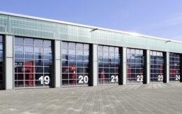 Промышленные секционные ворота Hormann