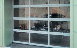 Гаражные панорамные ворота AluPro