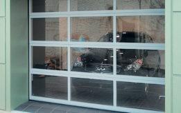 Панорманые гаражные ворота