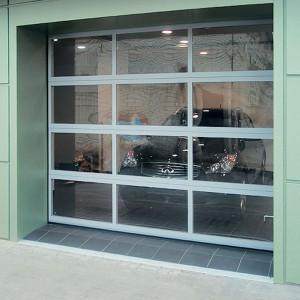 Распашные гаражные ворота DoorHan в стальной раме с сэндвич-панелью