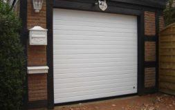 Секционные гаражные ворота DoorHan серия RSD 01 BIW