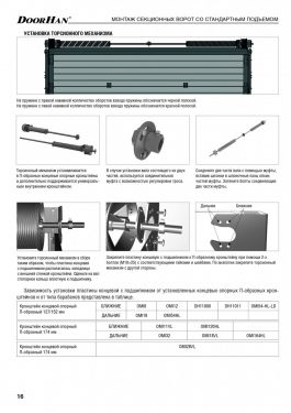Инструкция на гаражные секционные ворота RSD02, ISD01, ISD02