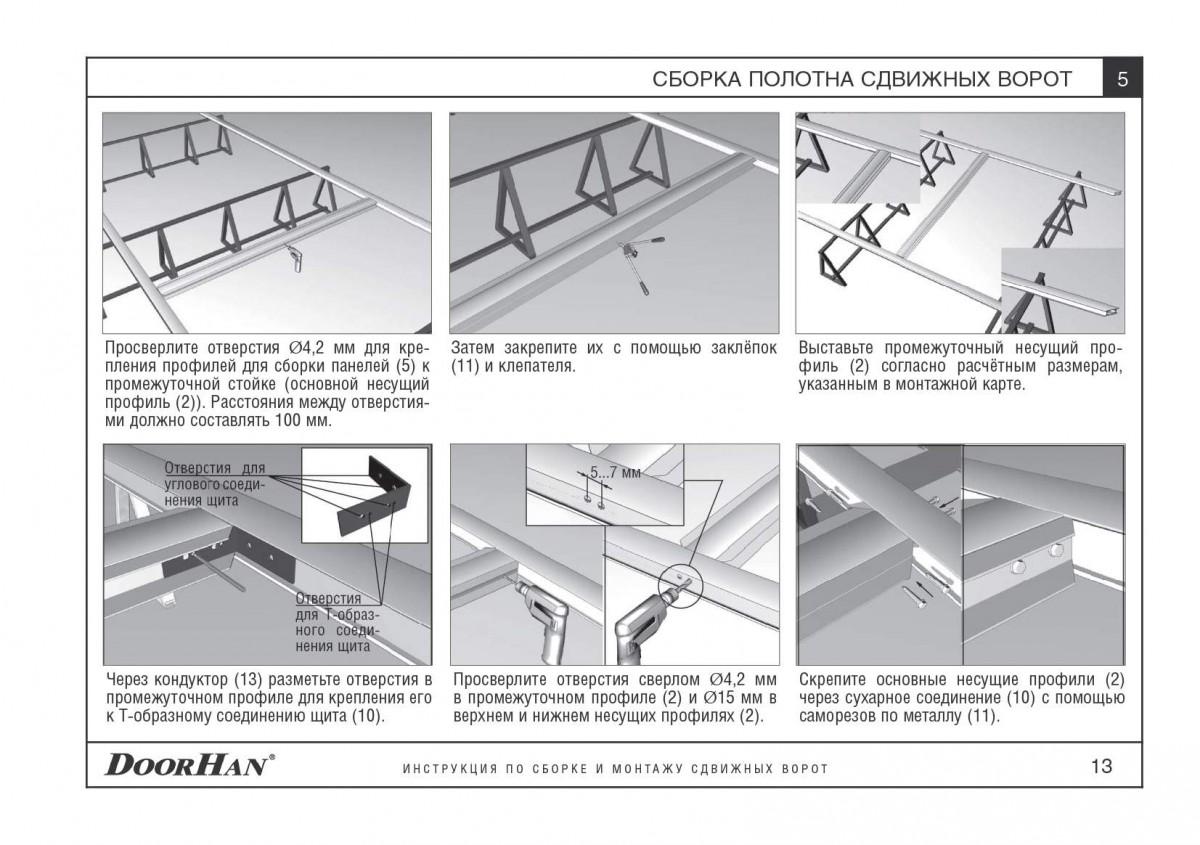 Автоматика откатных ворот дорхан инструкция