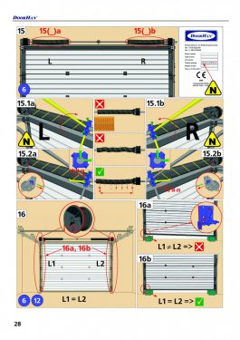 Инструкция на секционные ворота RSD02