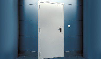 Технические двери DoorHan двупольные глухие