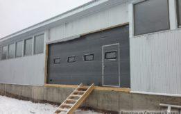Промышленные гаражные ворота