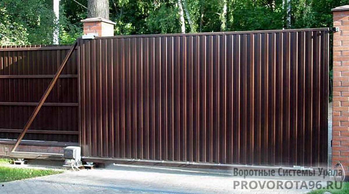 Привода для откатных ворот эбург ворота из металопрофилфото