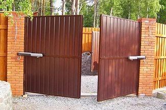 ворота распашные екатеринбург