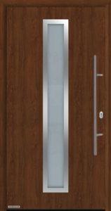 Входная дверь Hormann THERMOPLUS 700A Dark oak (темный дуб)
