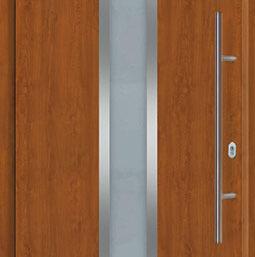 Входная дверь Hormann THERMOPLUS 700A Golden oak (золотой дуб)