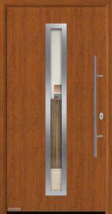 Входная дверь c терморазрывом Hormann Thermo65 МОТИВ 750F Golden oak (золотой дуб)