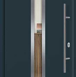 Входная дверь c терморазрывом Hormann Thermo65 МОТИВ 750F RAL 7016 (антрацит)