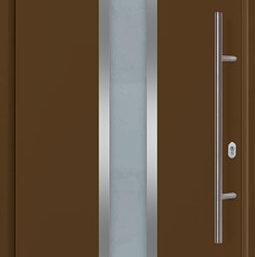 Входная дверь Hormann THERMOPLUS 700A RAL 8028 (коричневый)