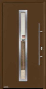 Входная дверь c терморазрывом Hormann Thermo65 МОТИВ 750F RAL 8028 (коричневый)