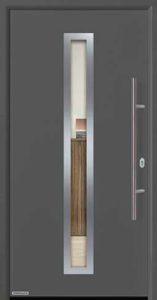 Входная дверь c терморазрывом Hormann Thermo65 МОТИВ 750F Titan (титан)