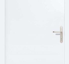 Входная дверь Hormann Thermopro TPS010 RAL 9016 (белый)