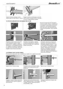 Инструкция по установке и эксплуатации противопожарных секционных ворот серии ISD FP