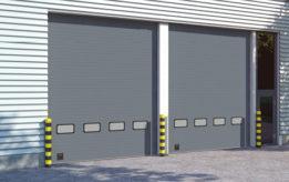 Промышленные секционные ворота Doorhan