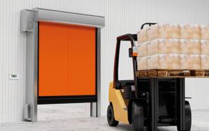 Скоростные рулонные ворота DoorHan для морозильных камер SPEEDROLL SDC