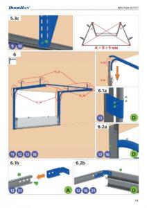Инструкция по монтажу ворот Doorhan ISD ThermalPRO