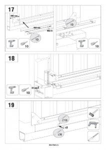 Инструкция по сборке сдвижных ворот Doorhan Revolution