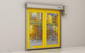 Скоростные рулонные ворота DoorHan для пищевой промышленности SPEEDROLL SDF