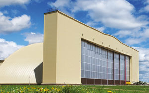 Ангарные ворота DoorHan и нестандартные конструкции по индивидуальным проектам