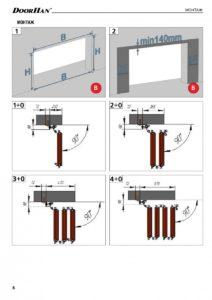 Инструкция по монтажу «Промышленные складные ворота DoorHan без нижней направляющей»