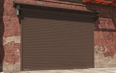 Стальные рулонные ворота DoorHan с навальным приводом