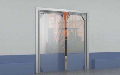 Пленочные маятниковые двери DoorHan SSD