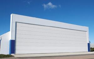 Ангарные ворота DoorHan шторного типа моносекционные