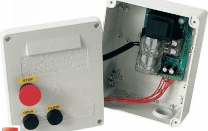 Блок управления ELMEC 1 со встроенным двухканальным приёмником