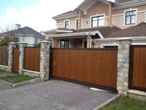 Откатные ворота Doorhan 4000×2000 мм