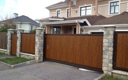 Откатные ворота Doorhan 4500×2200 мм