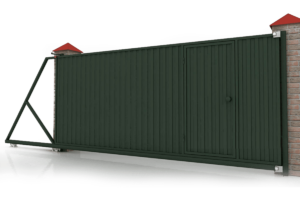 Откатные ворота 5500×2000 мм