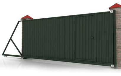 Откатные ворота 4300×2000 мм