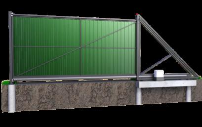 Ворота откатные 3000×3000 мм