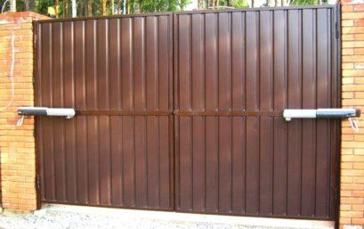 Распашные ворота 6000х2250 мм