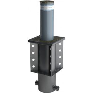Боллард гидравлический XPASS B 275/800C L  K4 стенка столба 10 мм