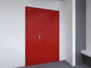 Технические двери DoorHan однопольные глухие