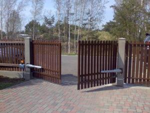 Ворота распашные 6000х3500 мм