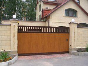 Ворота откатные Doorhan Revolution 4500x2000 мм
