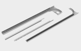 Скоростные секционные ворота с торсионным механизмом ISD01-PARKING